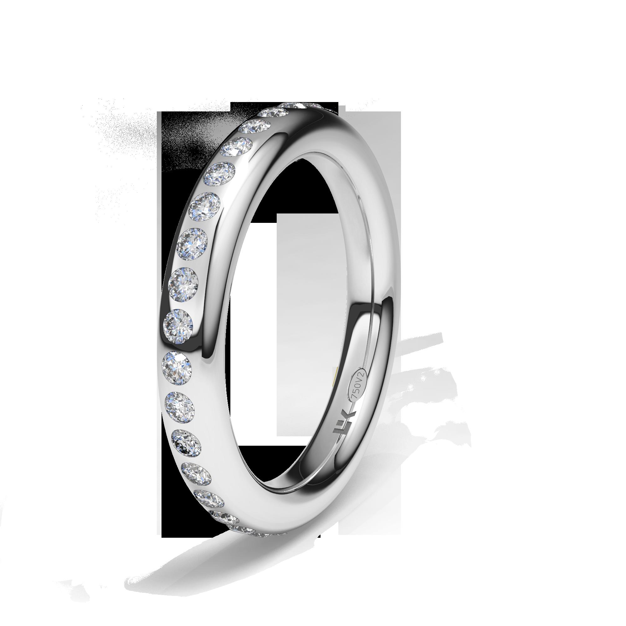 Pin En Anillos Y Alianzas Con Diamantes Diamonds Wedding Bands