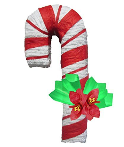 32 Candy Cane Pinata Christmas Decoration Party Game And Photo Prop Click Image To