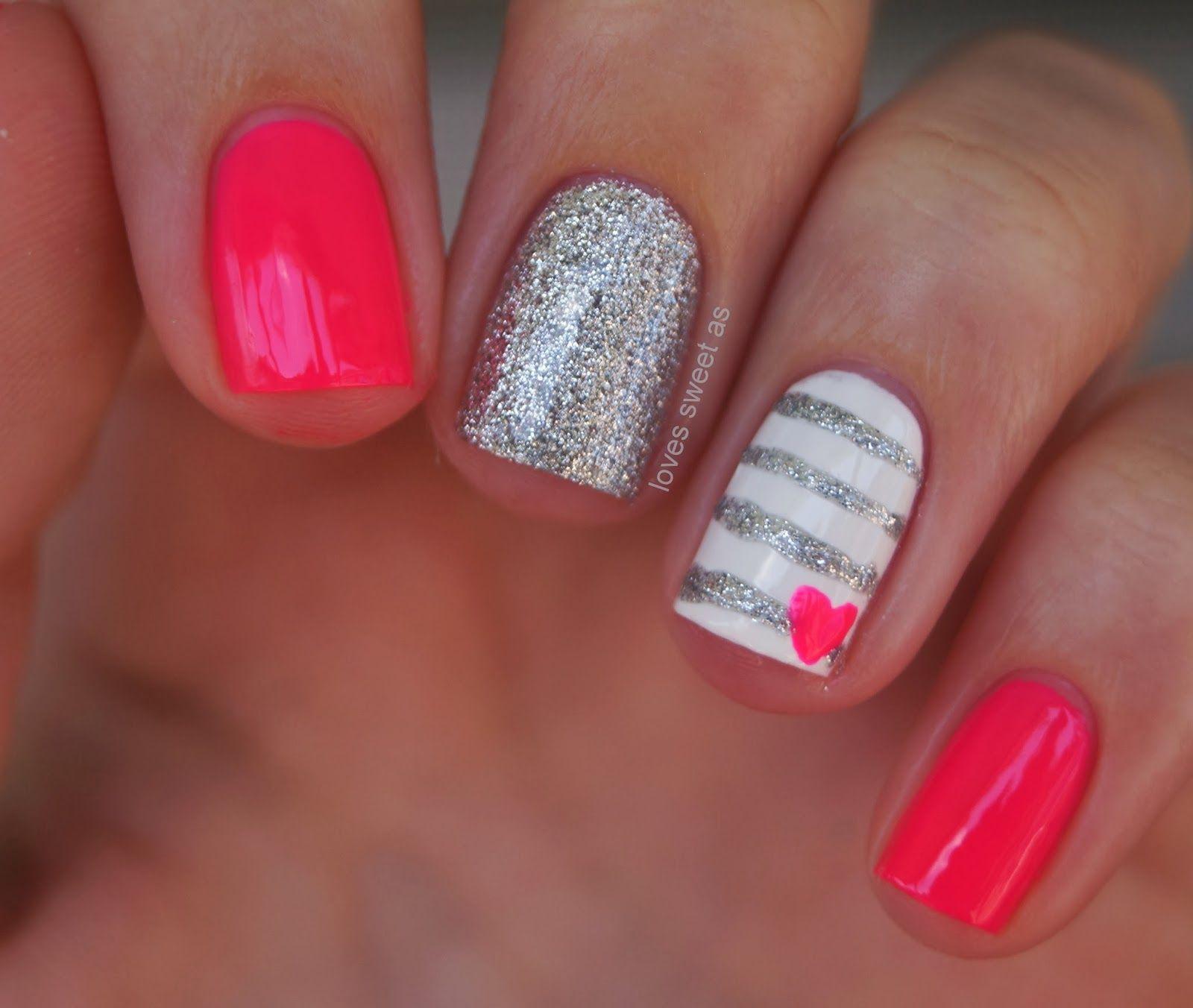 love's sweet as #FunNailArt | Nails | Nails, Nail designs ...