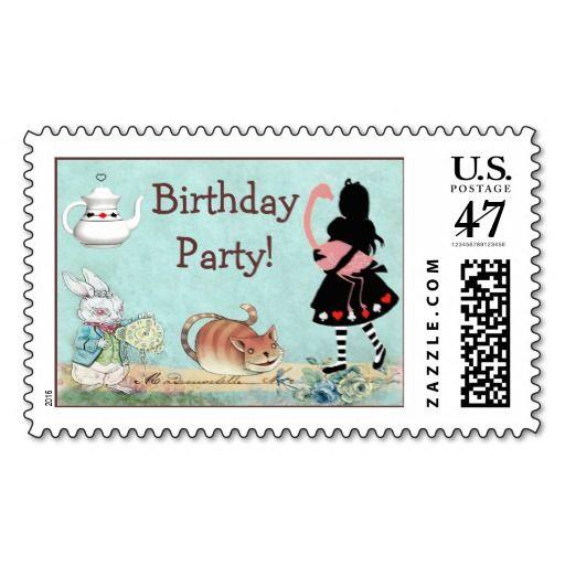 Alice and Flamingo Wonderland Birthday Party