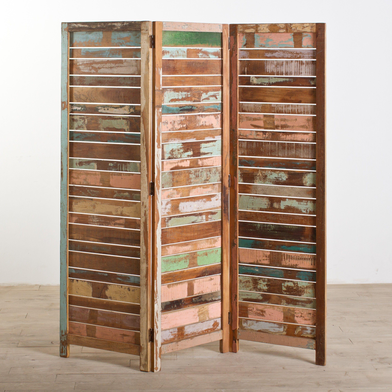 Reclaimed Wood 3 Panel Screen Room Dividers Pinterest Wooden Dashboard