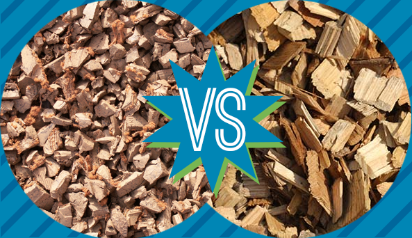 We weigh the qualities of both rubber mulch and wood chips against what  they can contribute - Vs. Wood Chips Rubber Mulch
