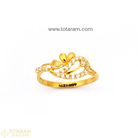 Gold Rings For Women Gold Rings Fine Gold Jewelry Gold Ring Indian