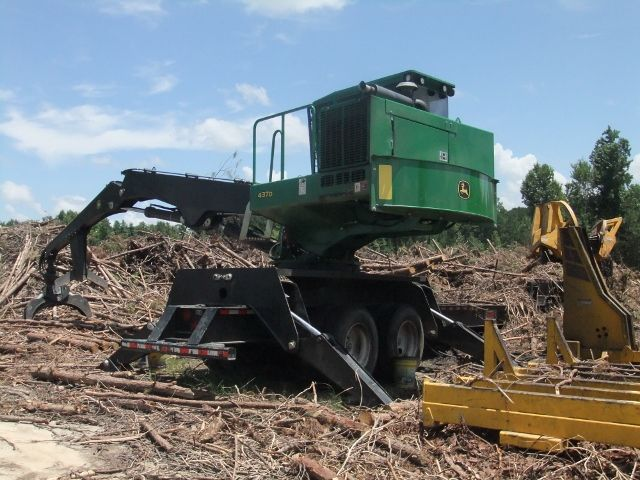 John Deere 437 Log Loader | Logging | Used construction