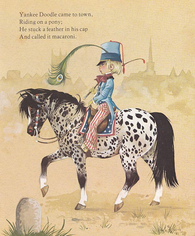 Yankee Doodle ~ Illustrated by Janet & Anne Grahame Johnstone