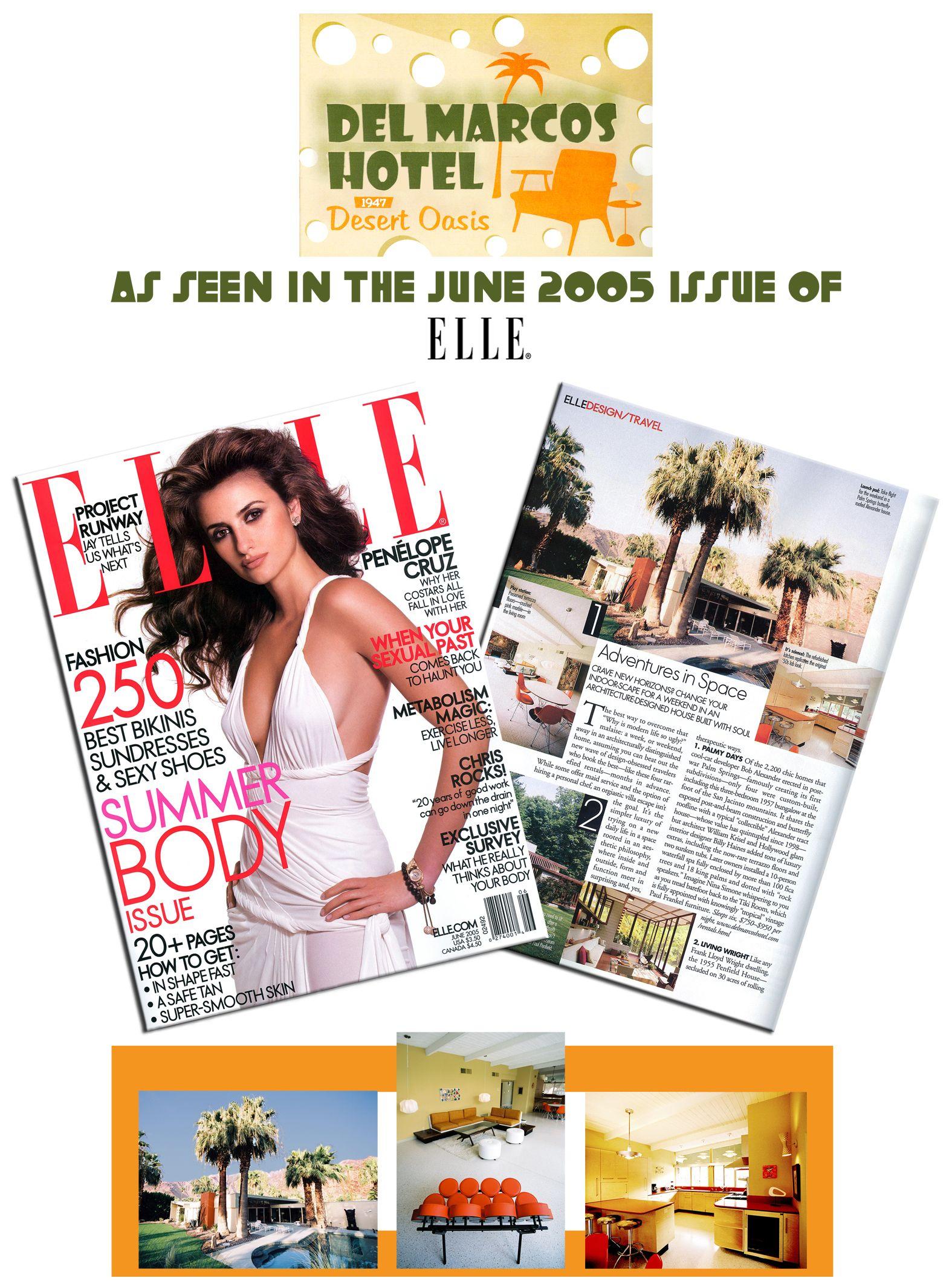 Del Marcos Elle Flier 8x10 Flier for a hotel Tags: Graphic Design ...