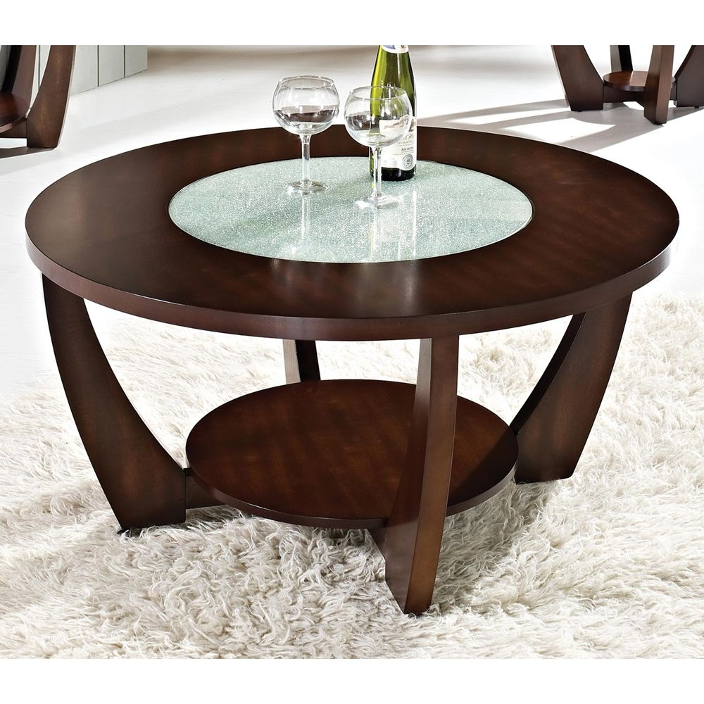 Glass coffee table in living room round cherry glass coffee table  doces abobrinhas  pinterest