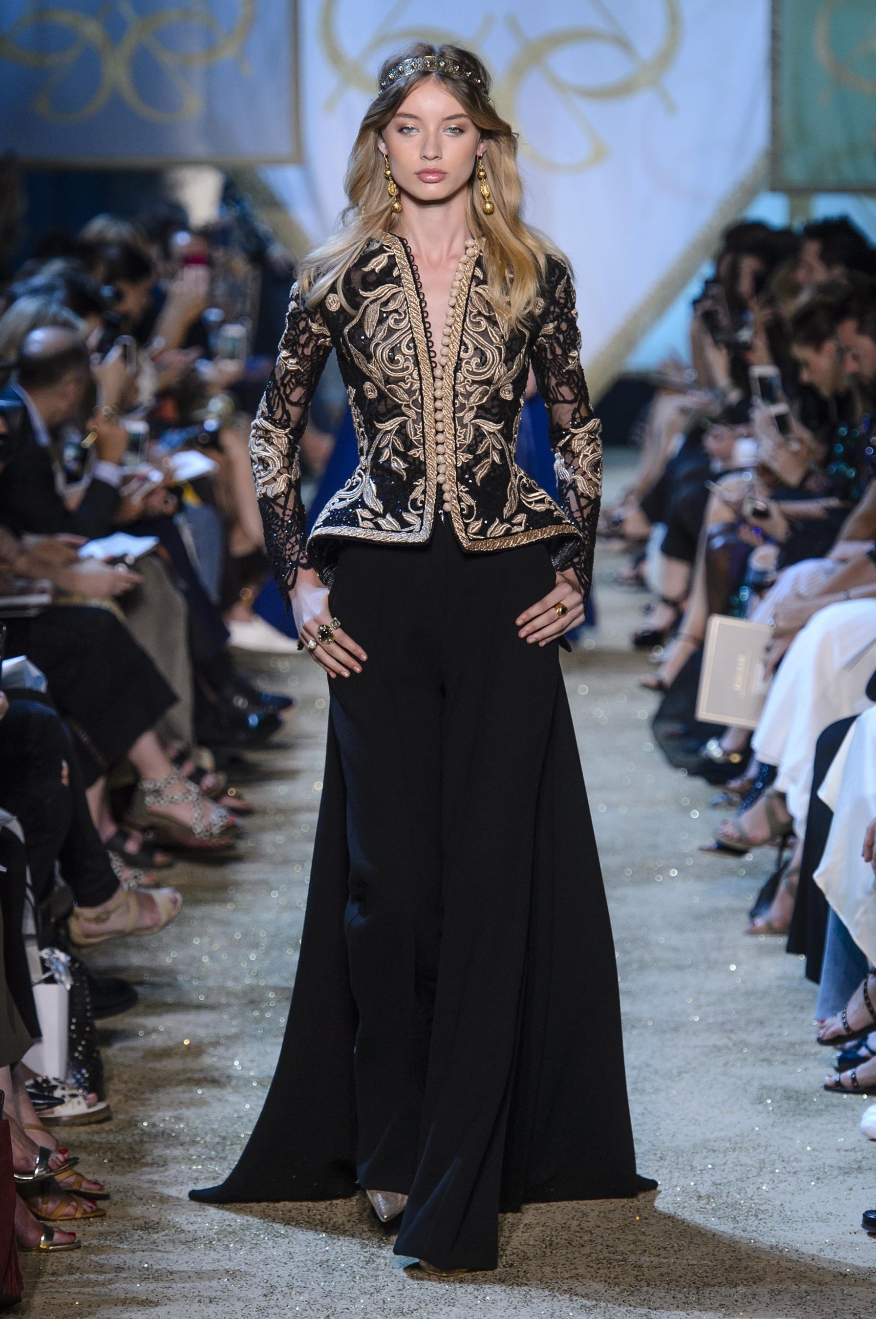 Défilé Elie Saab Automne-hiver 2017-2018 Couture