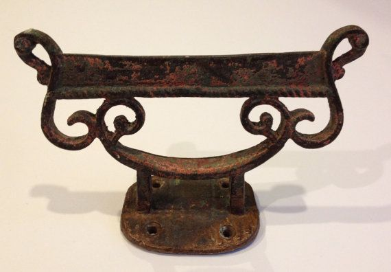 Boot Scraper Vintage Style Cast Iron Shoe
