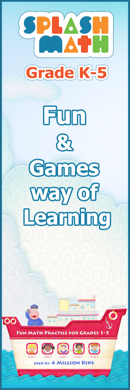 Fun games and rewards keep children engaged, ma… | Splash Math K-5 ...