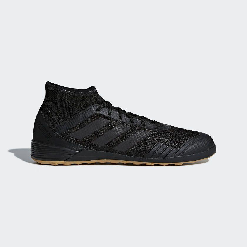 eBay  Sponsored 00Adidas Predator Tango 18.3 Black Indoor Soccer Shoes  Futsal Trainers Size 9.5 Adidas 651550bb5f51