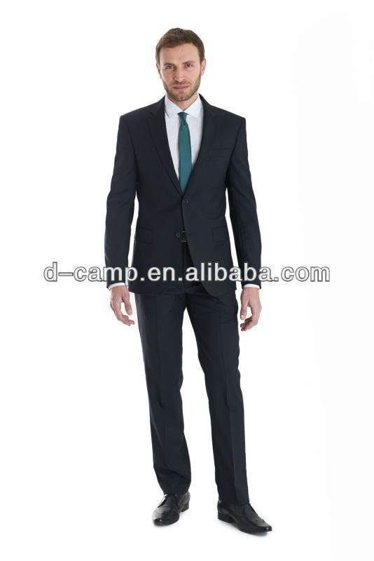 MBS-090 Latest design coat pant men suit top brand coat pant men suit design 2014
