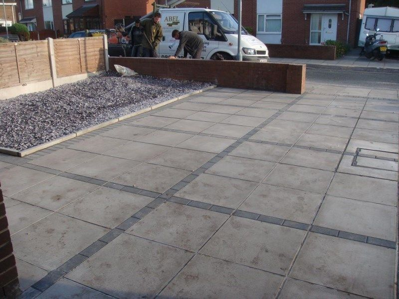 Driveway slabs google search driveway garden ideas for Patio slabs design ideas