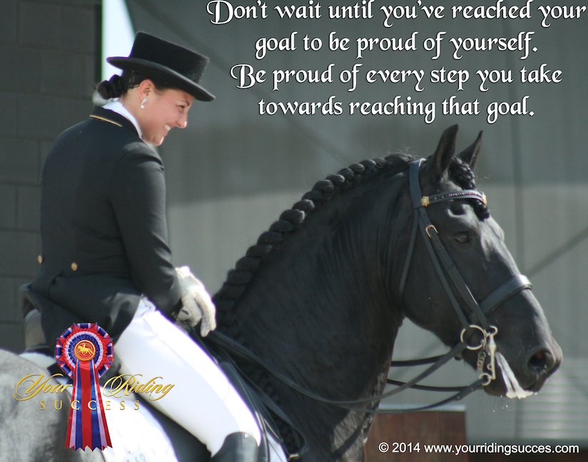 inspirational dressage quote