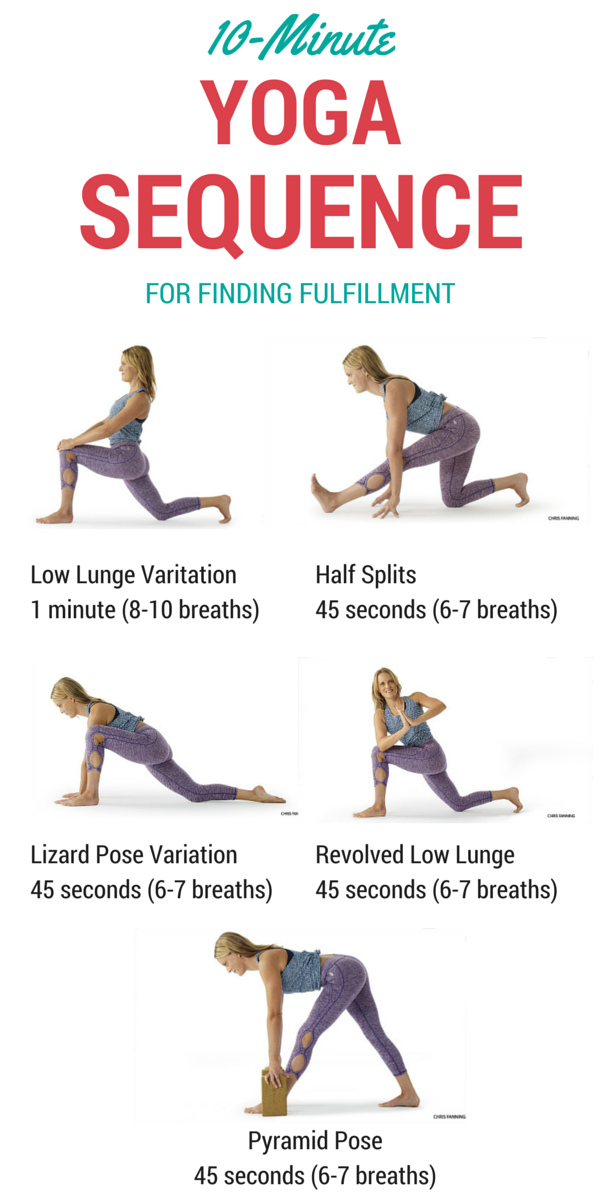 The 10Minute Sequence For Finding Fulfillment Yoga
