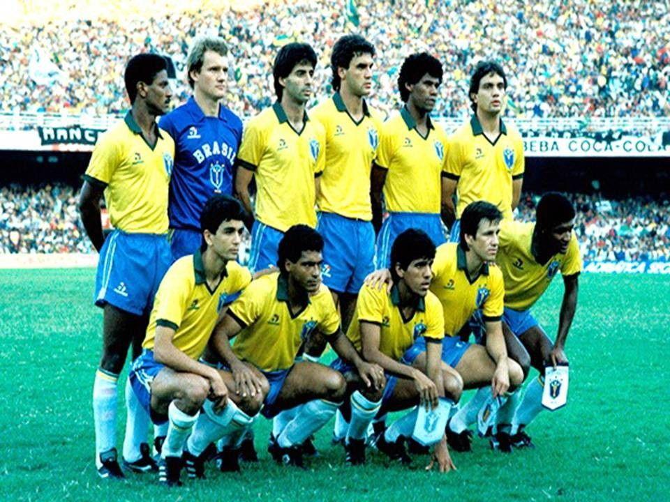 Selecao Brasileira No Jogo Contra O Uruguai Pelo Quadrangular Final Da Copa America 1989 Selecao Brasileira De Futebol Selecao Brasileira Futebol Brasileiro