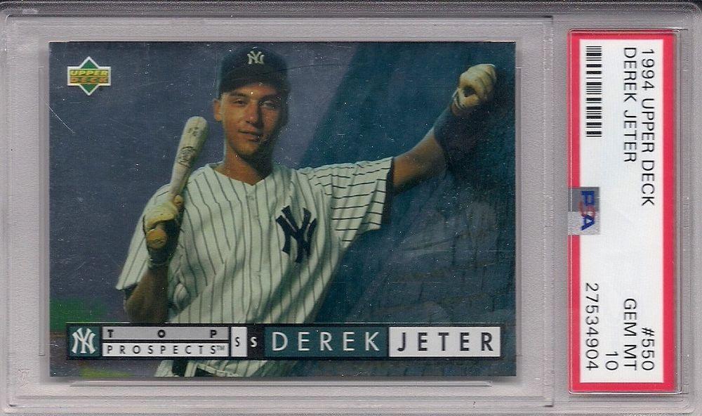 Park Art|My WordPress Blog_Derek Jeter Upper Deck Rookie Card 449