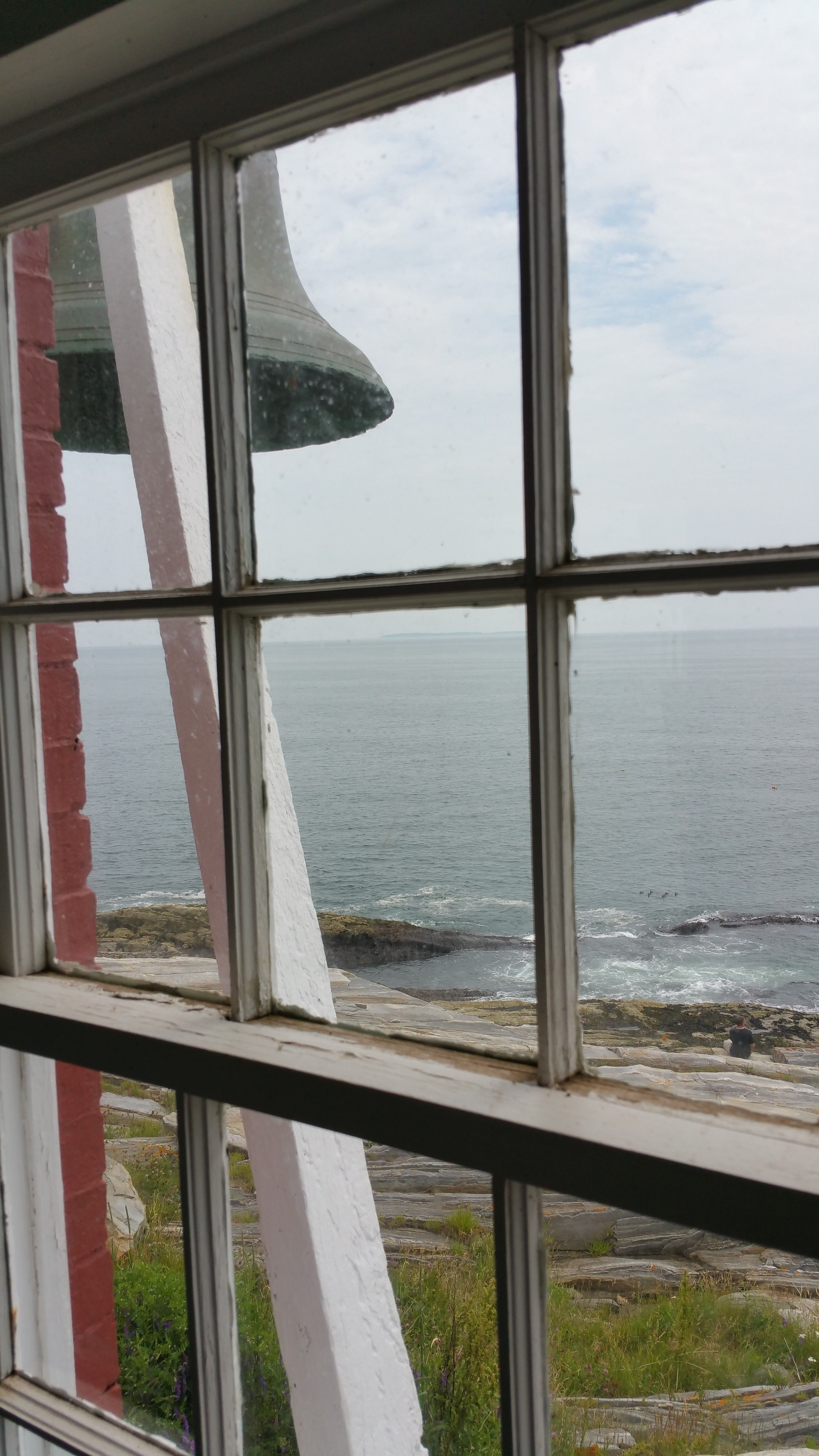 View from Pemaquid Lighthouse Maine 2015