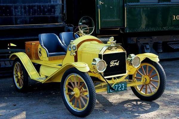 Brass and Fast: 1914 Speedster