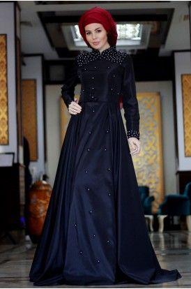 Zarif Tesettur Adli Kullanicinin Tesettur Elbise Modelleri Panosundaki Pin The Dress Elbise Giyim