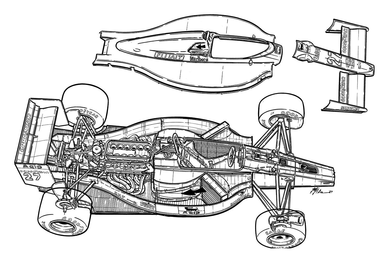 This The Ferrari 640 From John Barnard It Was A Milestone
