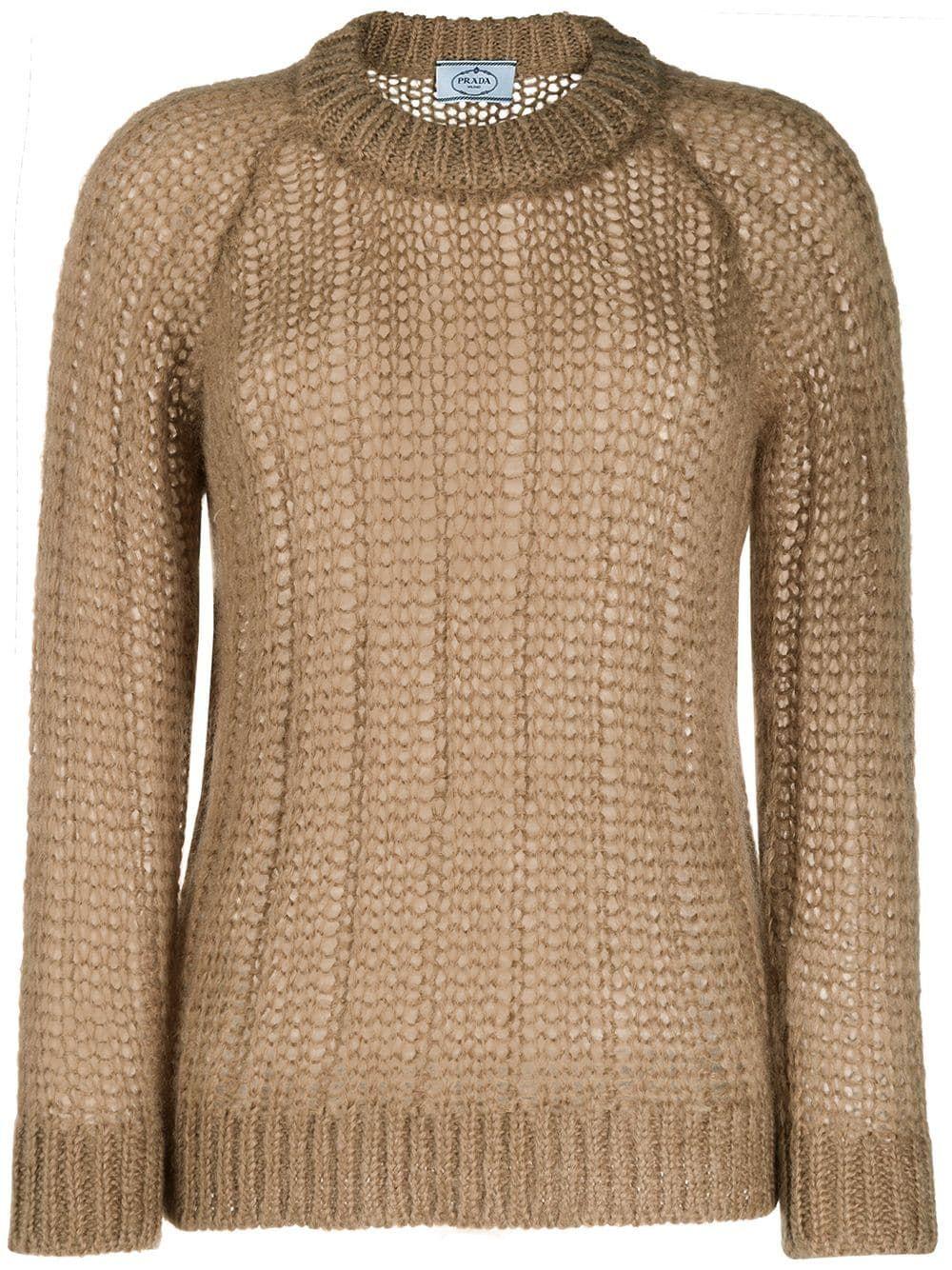 Prada chunky knit jumper - NEUTRALS #chunkyknitjumper