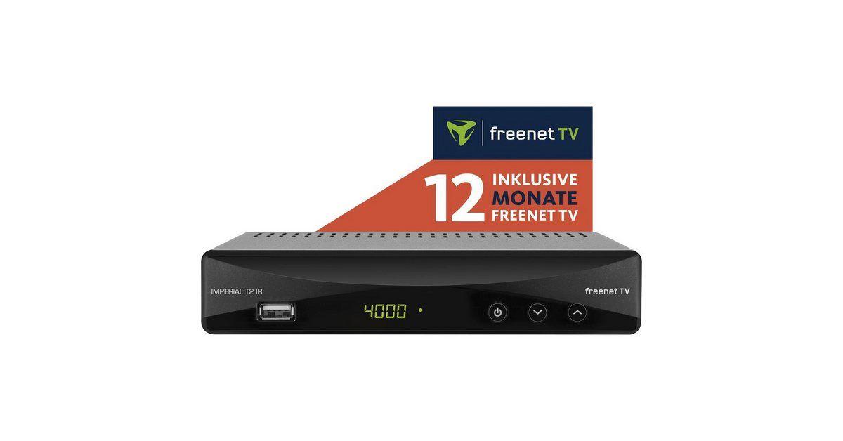 Dvb T2 Receiver Inkl 12 Monate Freenet Tv T2 Ir In 2020 Freenet Tv Dvb T2 Und Usb