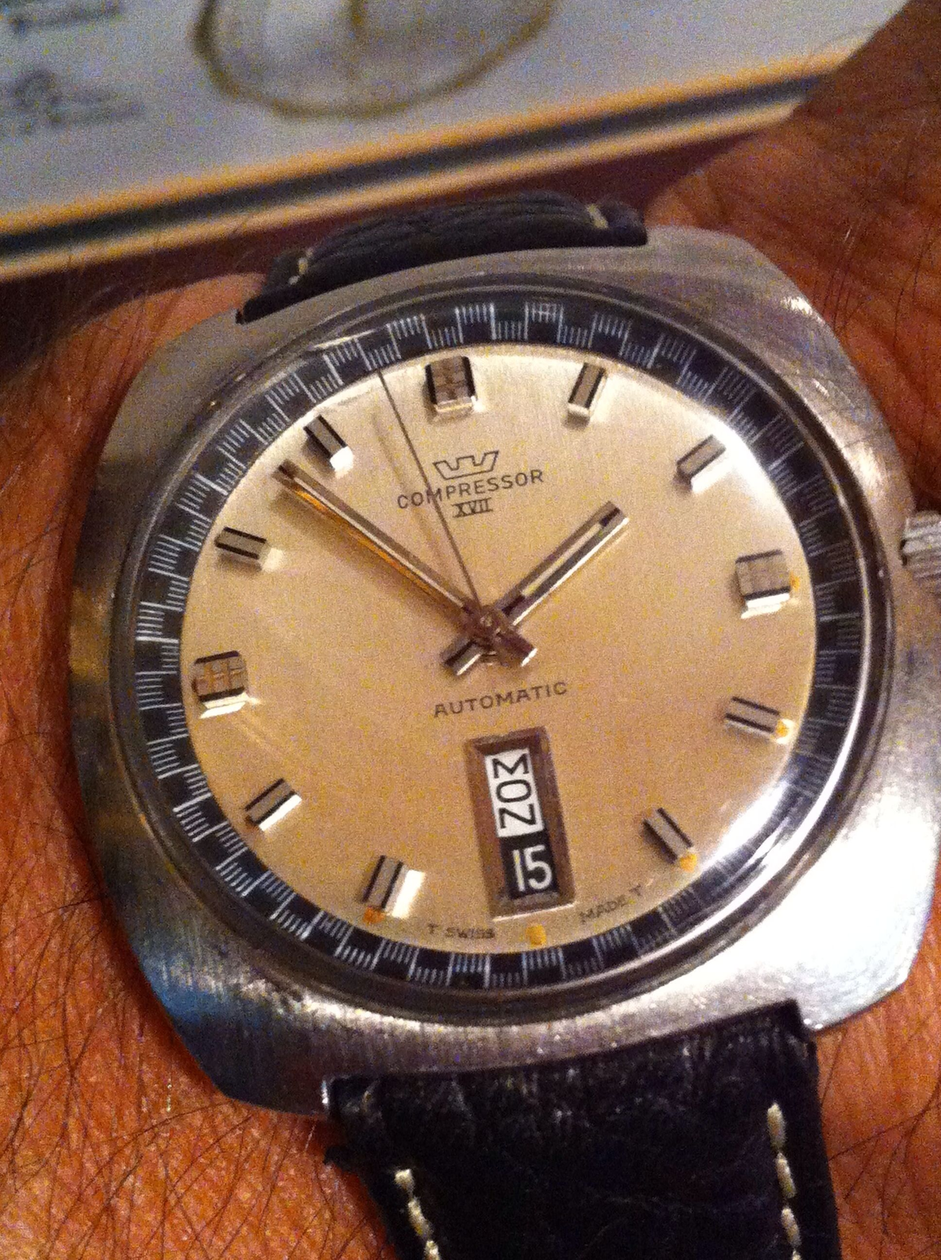 Glycine Compressor circa 1960s Watch collection, Sport