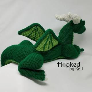 Dragon amigurumi, parte 1 grande - YouTube | 320x320