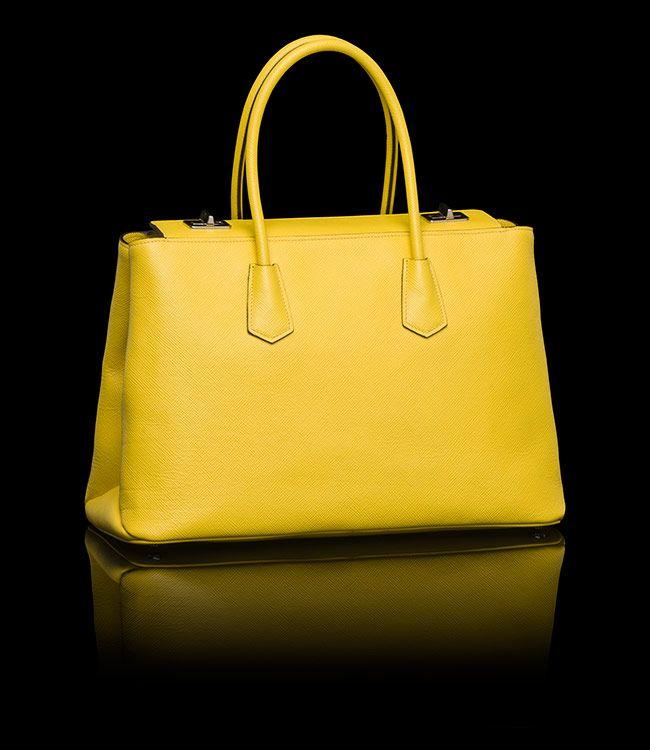 Prada   Twin Bag Sonnenblume