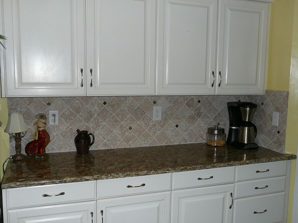 Tile Backsplash with Granite Counter Top http ... on computer counter ideas, cheap kitchen counter ideas, grill counter ideas, kitchen island counter ideas, kitchen window counter ideas, lazy susan counter ideas, kitchen top counter ideas, tile counter ideas, breakfast counter ideas, desk counter ideas, extended kitchen counter ideas, bath counter ideas, kitchen corner counter ideas, bar counter ideas,