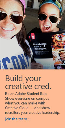 adobe using the tab feature