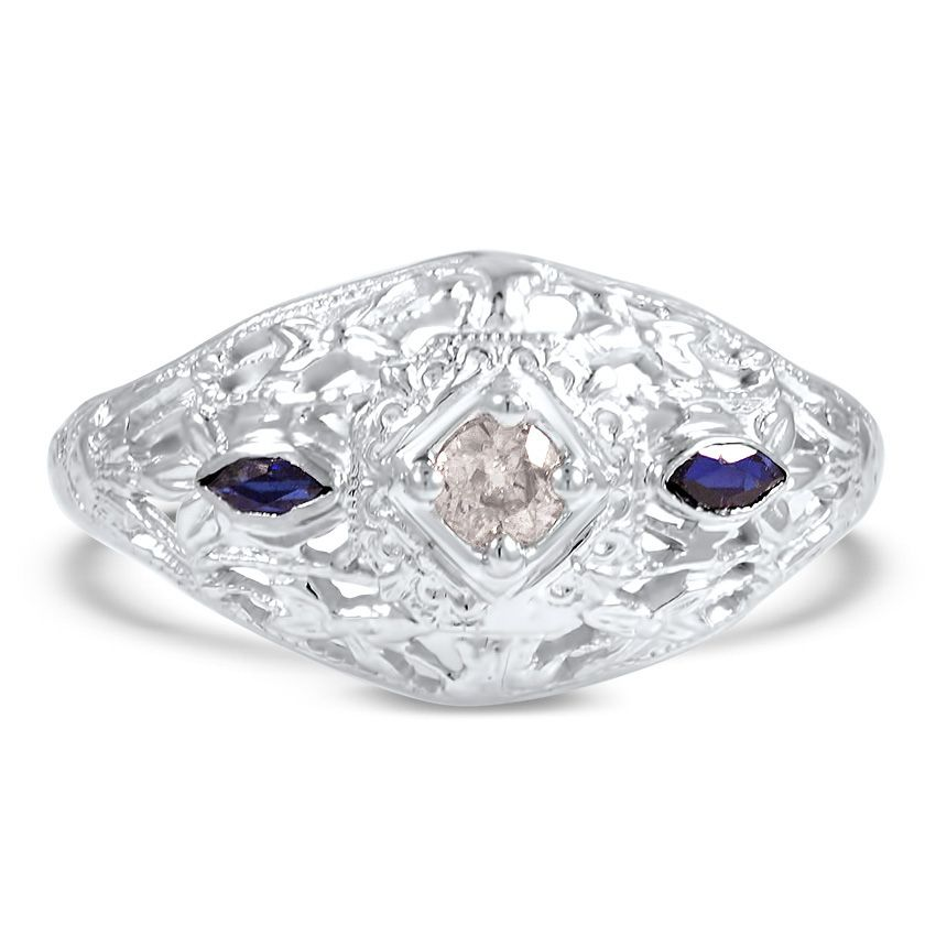 18K White Gold The Talula Ring from Brilliant Earth