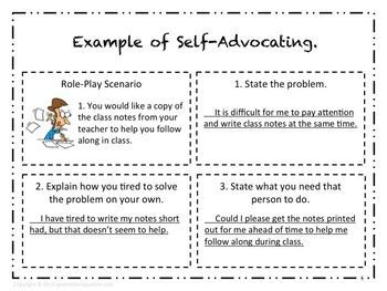 Image Result For Self Advocacy For Students  Self Advocacy