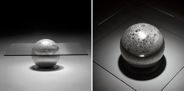 Awesome Mysterious Coffee Table   La Lune By Liana Yaroslavsky Good Ideas