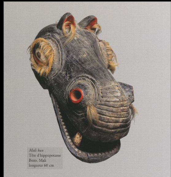 Masque Hippopotame Bozo Mali Masque Animal Pinterest Masking