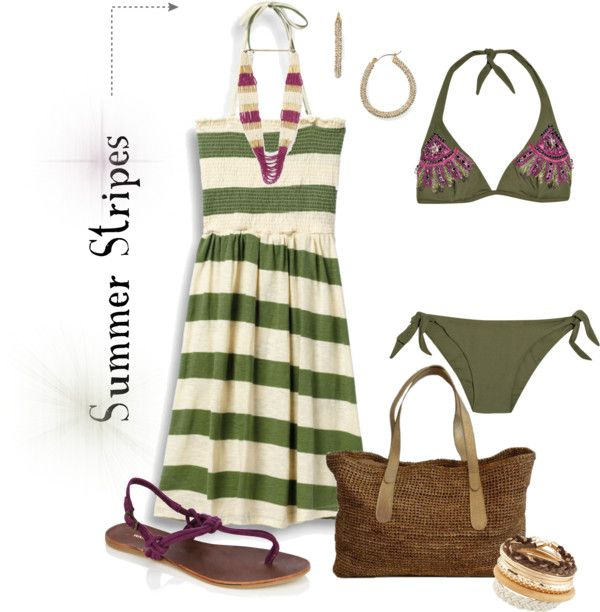 """Summer Stripes Contest"" by jayneann1809 on Polyvore"