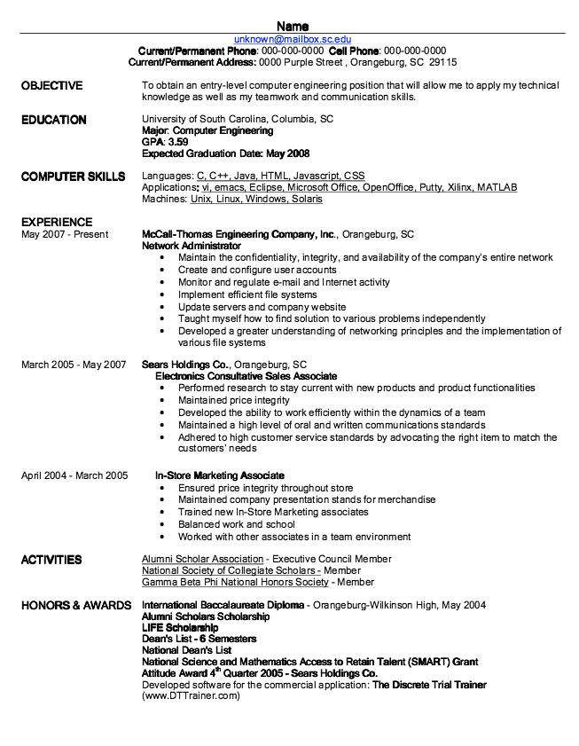 Example Of In Store Marketing Associate Examples Resume Cv Communication Skills Resume Cv Resume