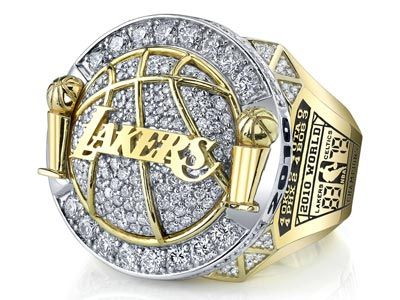Lakers 2010 Back To Back Championship Ring Lakers Championship Rings Lakers Championships Los Angeles Lakers Basketball