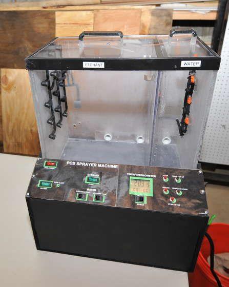 Printed Circuit Board (PCB) Sprayer Machine   DIY