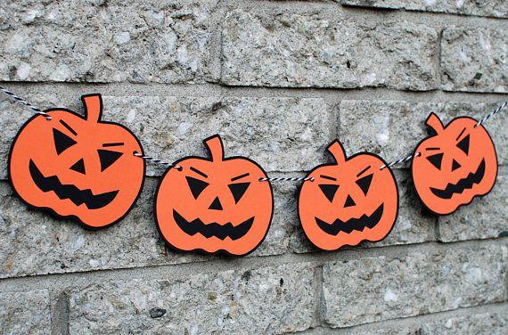 Halloween Decorations, Halloween Party Decor, Happy Halloween Banner