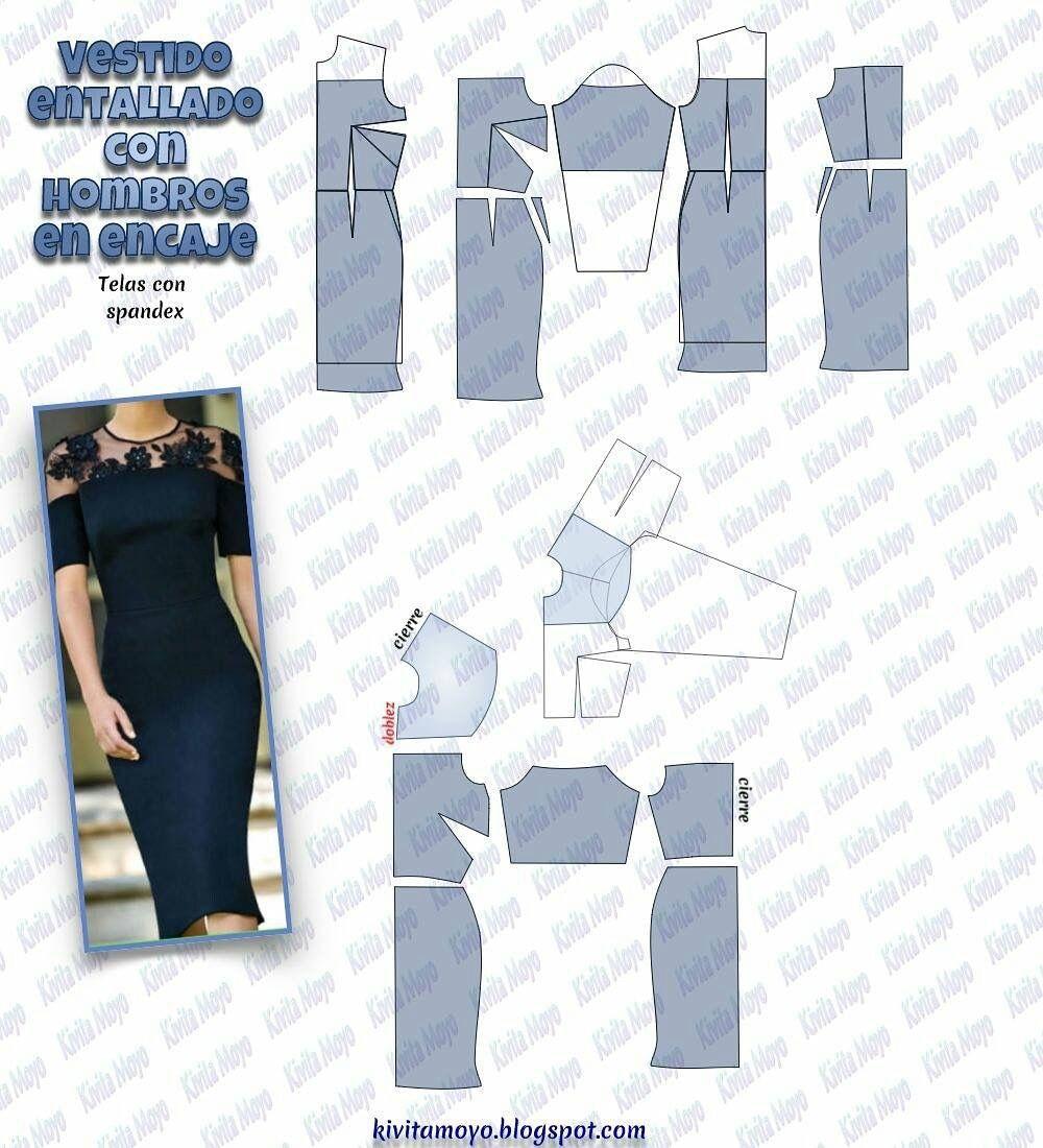 Pin de maria tejeda en vestidos | Pinterest | Vestidos, Costura y ...