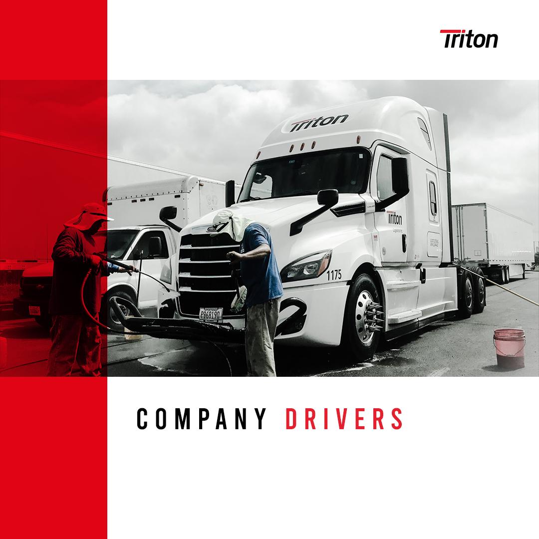 Company Drivers Otr Drivers Logistics Triton Drivers