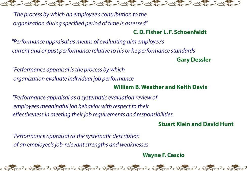 what is the meaning of performance management