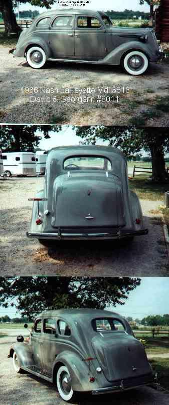 Nash Lafayette 3618 sedan