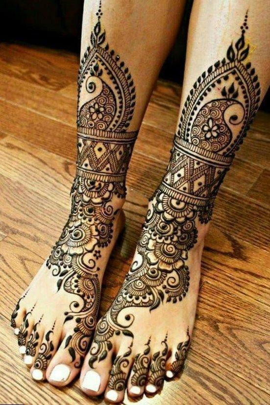 Henna Hot Tattoo Henna Designs Feet Bridal Mehndi Designs Leg Henna
