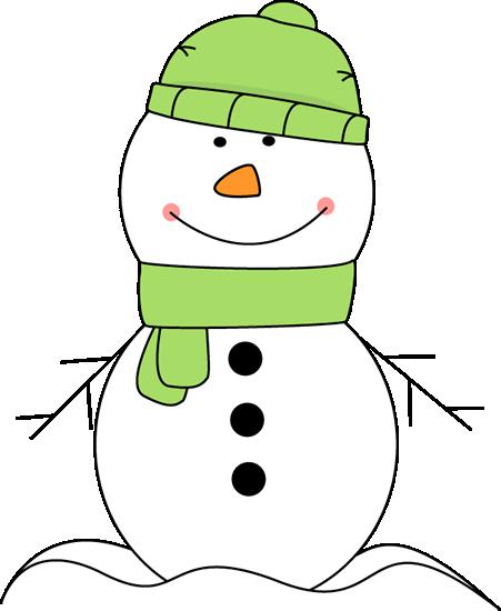 Snowman purple. Cute wearing a green