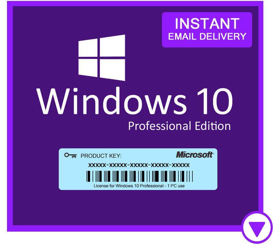 windows 10 pro free product key 64 bit