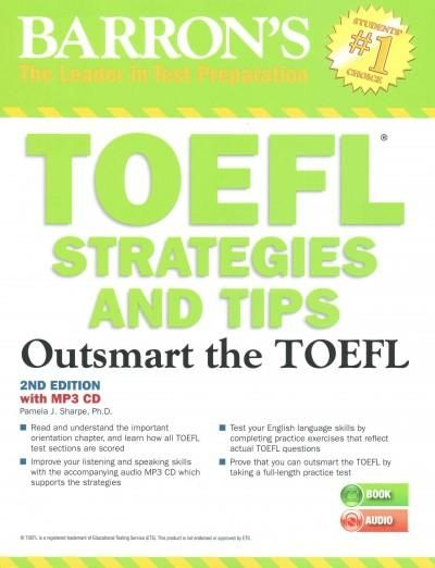 Barrons toefl strategies and tips outsmart the toefl girls barrons toefl strategies and tips outsmart the toefl overstock shopping the best deals on toefl fandeluxe Images