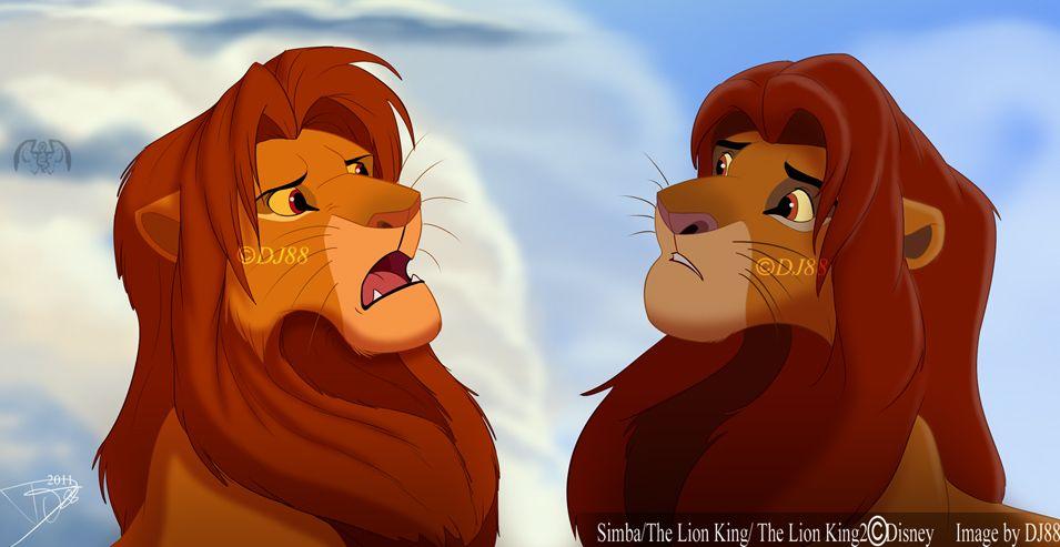 Simba Vs Simba Lion King Pictures Lion King Movie Lion King Fan Art